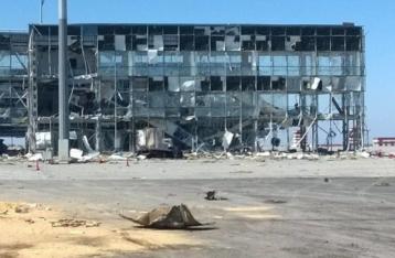 Прес-центр АТО повідомив про припинення вогню в донецькому аеропорту