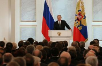 Путін: Росія не буде підкорятися Заходу в ситуації щодо України