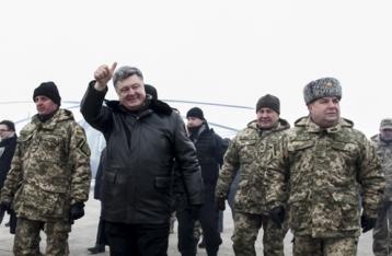 Порошенко заявил о реальном соблюдении перемирия на Донбассе
