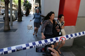 У Сіднеї в кафе сталося збройне захоплення заручників