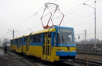 На маршрути Києва через страйк не виїхали трамваї трьох депо