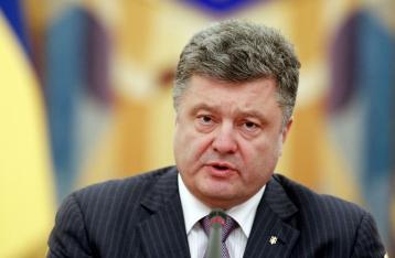 Порошенко внес на рассмотрение Рады законопроект об отказе от внеблокового статуса