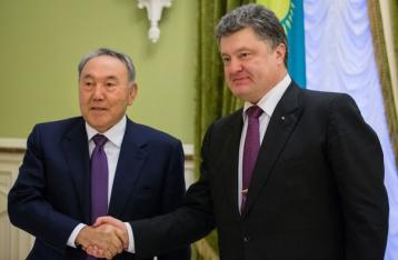 Порошенко і Назарбаєв домовилися про співпрацю в ряді сфер