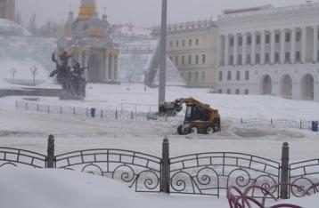 В Украину идут снега и морозы