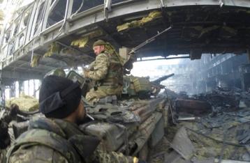 В бою за донецкий аэропорт погибли трое военных