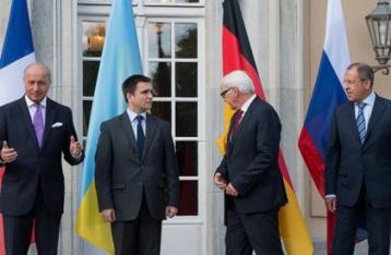 Встреча глав МИД в «нормандском формате» состоится 12 января в Берлине