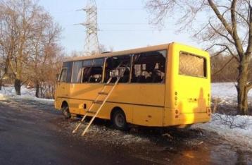 В Генштабе обстрел автобуса под Волновахой считают провокацией