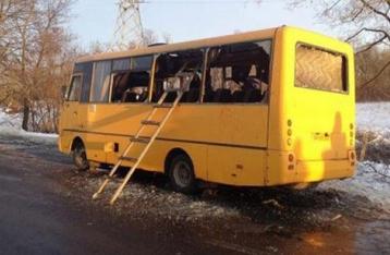 Число жертв обстрела автобуса под Волновахой достигло 12