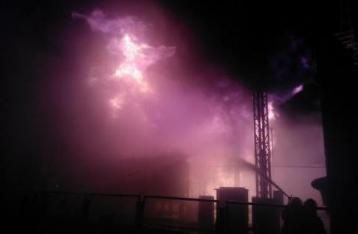 На Южно-Украинской АЭС произошел масштабный пожар