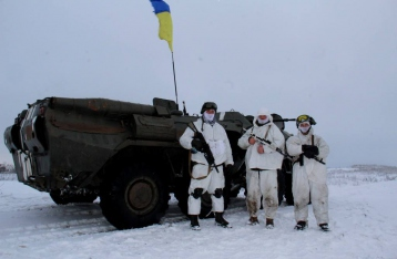 Украинские военные остановили наступление в районе 29-го и 31-го блокпостов