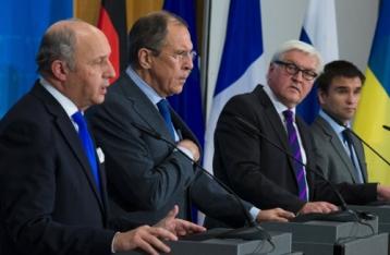 В ЕС считают, что переговоры по Украине идут в правильном направлении