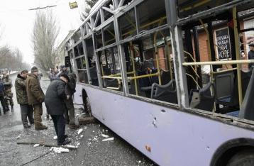 ОБСЕ установила, откуда обстреляли остановку в Донецке