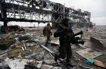 Украинские военные покинули донецкий аэропорт