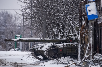 Штаб: Все атаки НВФ на блокпосты сил АТО в Углегорске отражены