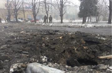 В Дебальцево снаряды попали в жилые дома, семь погибших