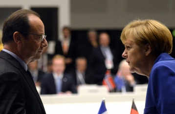 Меркель и Олланд едут с новыми идеями по Донбассу