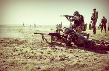 «Азов» начал наступление в сторону Новоазовска