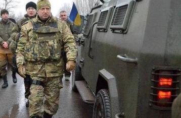 СНБО: Подразделения Нацгвардии перешли в наступление под Мариуполем