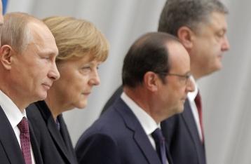 Встреча лидеров «нормандской четверки» завершилась