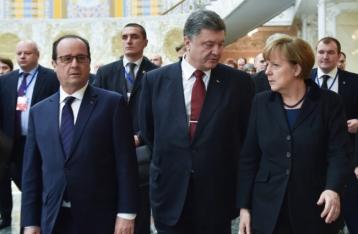 Порошенко заявил о договоренности прекратить огонь с 15 февраля