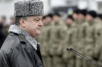 Порошенко объявил о прекращении огня