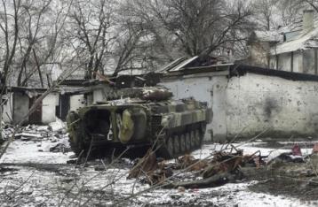 НВФ штурмуют базовый лагерь сил АТО в Дебальцево
