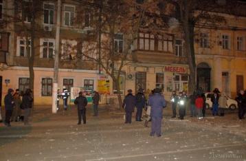 Центр Одессы всколыхнул очередной взрыв
