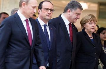 «Нормандская четверка» сегодня обсудит ситуацию вокруг Дебальцево