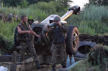 Сегодня в зоне АТО должен начаться отвод тяжелого вооружения