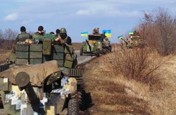 Украинские военные завершают отвод вооружений на Донбассе
