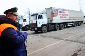 Госпогранслужба: Гумконвой РФ заехал в Украину с грубыми нарушениями