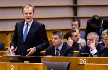 Туск: ЕС примет решение по санкциям против России в июне