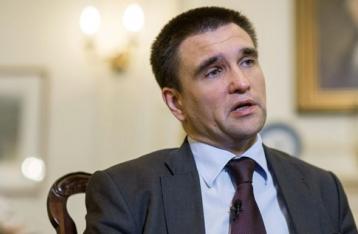 Климкин: Киев завершил отвод тяжелого вооружения на Донбассе
