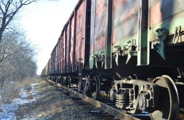 На Луганщине подорвали поезд с углем
