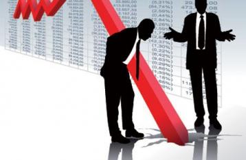В прошлом году ВВП Украины упал на 6,8%
