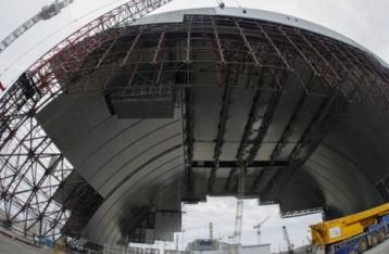 Чернобыль: новое укрытие на месте атомной катастрофы