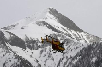 Появились первые фото и видео с места авиакатастрофы во Франции
