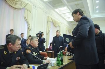 Бочковского задержали прямо на заседании Кабмина