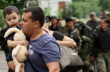 Количество украинцев, ищущих убежище в мире, рекордно возросло