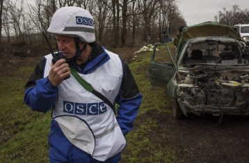Миссия ОБСЕ призывает прекратить бои в Широкино