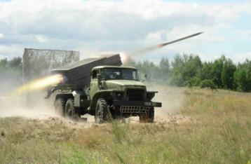 Штаб: НВФ обстреляли военных из «Градов» и минометов