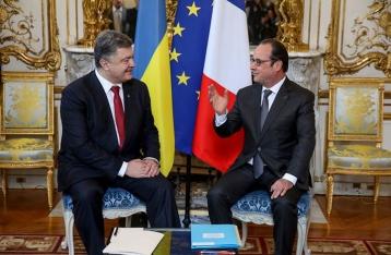 Олланд не уверен, что на Донбасс нужно отправлять миротворцев