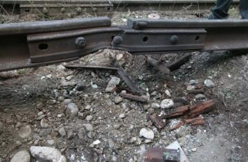 Под Одессой подорвали железнодорожные пути