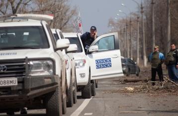 ОБСЕ заявляет о резком ухудшении ситуации у донецкого аэропорта