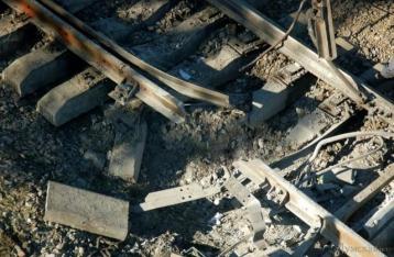 В Донецкой области снова взорвали железнодорожные пути