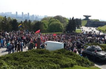 Милиция задержала несколько человек возле музея ВОВ