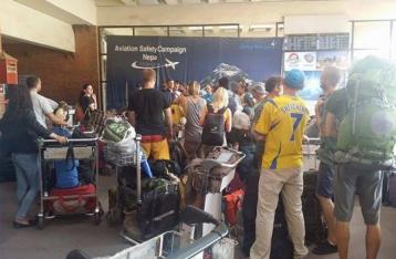 Ил-76 вылетел из Дели в Катманду для эвакуации украинцев