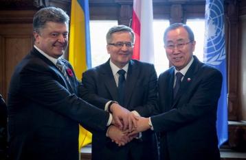 Порошенко: ООН должна направить миротворцев на Донбасс