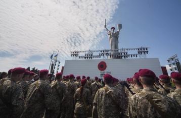 Киев отметил 9 Мая без происшествий