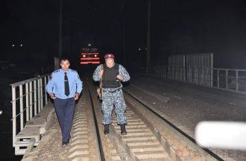В Одессе подорвали железнодорожный мост
